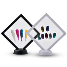 Nail Art Tip Display Stand Holder Acrylic Designs Colour Showing Board Manicure
