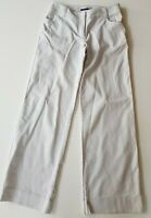 SPORTSCRAFT Soft Grey Stretch Wide Legged Pants Size 10