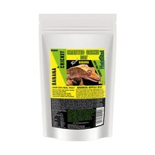 HabiStat Crested Gecko Diet Real Banana With Added Crickets 60g Resealable Pouch