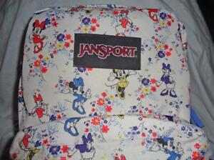 NWT JANSPORT DISNEY MINNIE MOUSE & DAISY DUCK SUPERBREAK BACKPACK~FREE US SHIP