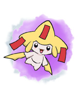 Ultra Pokemon Sun and Moon Nintendo HK Shiny Jirachi Event 6IV-EV Trained
