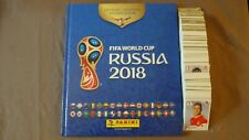 PANINI ALBUM VIDE HARDCOVER + SET COMPLET FOOT WORLD CUP RUSSIA 2018