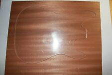 TOP Body Korpus Blank Mahagoni Sapeli gehobelt 44,5 mm Tonholz Gitarrenbau
