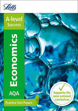 AQA A-Level Economics Practice Test Papers by Letts A-Level 9780008179045