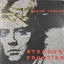 Roger Taylor Authentic Signed Strange Frontier Album Cover JSA #X73621