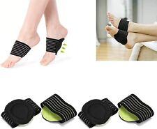 2 x Arch Support Plantar Fasciitis Flat Feet Foot Fallen Insole Heel Shoes