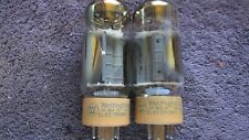 (2) Mint Matched 110% Testing Westinghouse 8417  Guitar  Audio   Tubes
