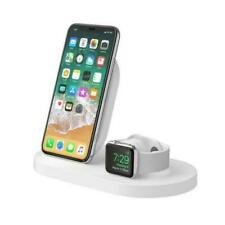 Belkin Boost Up Wireless Charging Dock for iPhone and Apple Watch, White - F8J235AUWHT