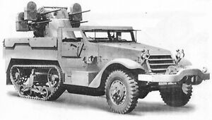M16 HALFTRACK QUAD FIFTY MACHINE GUN MOUNT TRAINING FILMS WWII DVD204