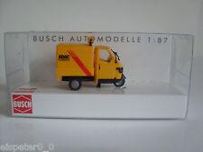 """Busch 48483 Piaggio Ape50 """"ADAC"""", H0 Modelos en miniatura Modelo a escala 1:87"""
