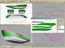3D Boat Design CAD Ship Hull Watercraft Designer NEW Software Program on CD