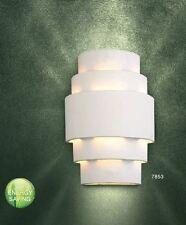 Applique Dessin Moderne Lampe murale Lampe de corridor en céramique Blanc 35033