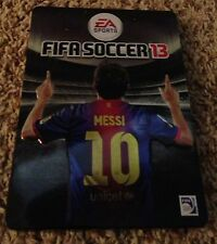Limited Edition Fifa Soccer 13 Messi Steel Case