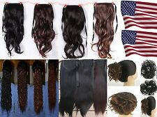 Cosplay Ponytail Pony Hair Extension - many style for choice - USA seller