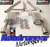 Milltek SSXM026 Mini Cooper S Clubman Exhaust Cat Back Non Res MK2 1.6 Turbo