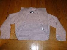 Jean Bourget - Cardigan tricoté gris - fille - taille 6 a / 116