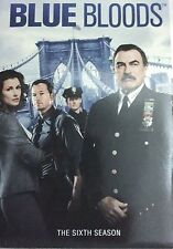 Blue Bloods: The Complete Sixth Season 6 (DVD, 2016), Ships Free First Class
