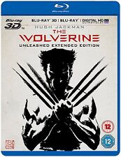 The Wolverine 3D [2013](Blu-ray 3D+2D, Region-Free)~~Unleashed Extended Cut~~NEW