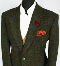 Harris Tweed Blazer Jacket Windowpane Wedding Country 42XS SPECIAL COLOURS 2135
