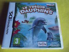 nintendo DS et 3DS le tresor des dauphins compatible 3 ds