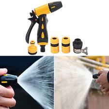 5STK Hochdruck Spritzpistole Auto Gartenspritze waschen Wasser Gewehr Düse Spray