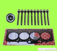ELRING Zylinderkopfdichtung+Zylinderkopfschrauber AUDI A3 (8L1) 1.6 74 KW 101 PS