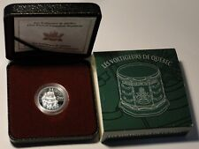 Proof 2000 First French-Canadian Regiment Les Voltigeurs de Quebec 5 cent silver