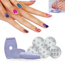 Fashion Girl Professional Nail Art Stamp Image Plates DIY Manicure Stencil Kit