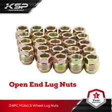 "Fits Chevy GMC GM Factory Style Lugs 24 Piece 7/8"" 14x1.5 Open End Lugs Nuts"