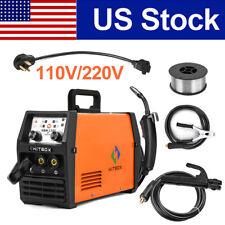 3in1 Mig Welder 110v 220v Dc Stick Arc Lift Tig Mig Welding Machine Withflux Core