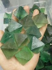 Wholesale 10pcs Natural green flourite point specimen gemstone crystal 1.1-1.3