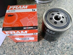 FRAM ENGINE OIL FILTER - FITS: SKODA SUPERB 2.8 V6 PETROL (2001-08)