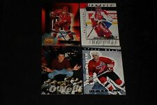 LOT OF (12) CERTIFIED AUTHENTIC PACK PULLED SIGNED AUTOGRAPHED HOCKEY CARDS