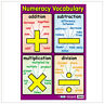 Educational Poster Numeracy Vocabulary (0028)