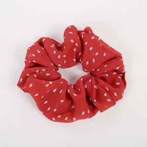 Flower Hair Scrunchies Ponytail Holder Hair Ties Rope Elastic Elastic Hair Band