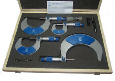MOORE AND WRIGHT METRIC 0-100MM EXTERNAL MICROMETER SET MW215-02BL / RDGTOOLS