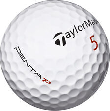 50 Taylormade Penta AA/C Grade Golf Balls *Free Tees!*