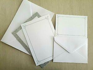 Gartner Studios Silver Glitter Wedding/Party Invitations & Response Kit - 50 Ct