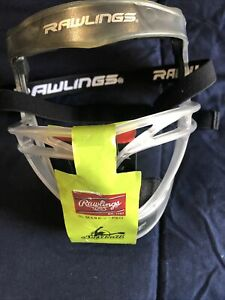 Rawlings Face First Softball Fielder's Mask Clear New