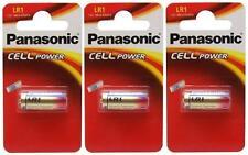 3 X Panasonic Lr1 Batería 1.5 v (tipo N / mn9100) (3 Baterías) - Nuevo