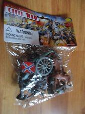 Civil War Action Figures Vintage Dimestore Toy Esco NOS