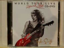 TAYLOR SWIFT: SPEAK NOW WORLD TOUR LIVE TARGET EXCLUSIVE CD - DVD! NEAR MINT