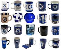 Chelsea FC Mug - Travel, Latte, Tea Tub, Tea, Coffee, Tankard, Heat Change
