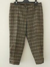 Caractere women's size 12 brown trousers