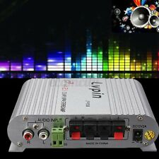 LVPIN 200W 12V Super Bass Mini Hi-Fi Stereo Amplifier For Motorcycle Car Home US