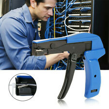 Strong Power Nylon Cable Zip Tie Gun Lightweight Durable Fastening Cutting Tool