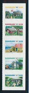 Dänemark Ferienhäuser a,Markenheft skl. in ** Postfrisch
