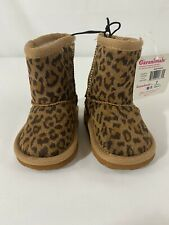 LITTLE GIRLS Leopard   Boots  Infants BY GARANIMALS Pull-On