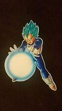 Dragon Ball Z Super Sticker Super Saiyan Vegeta Blue