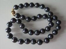 COLLIER  SOUTH SEA SHELL PEARLS 46cm et perles 10mm